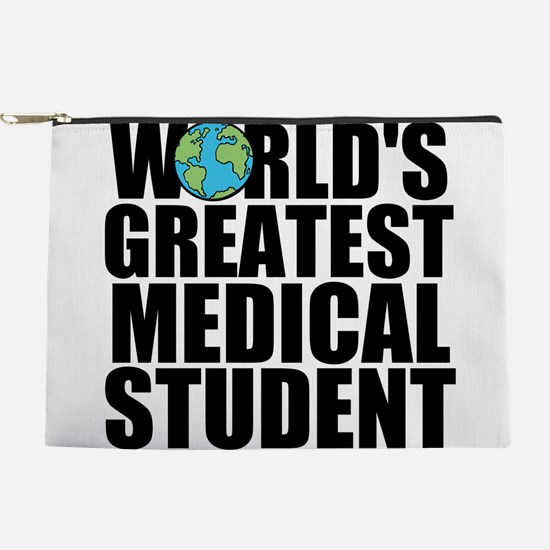 World's Greatest Medical Student Makeup Pouch