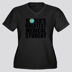 World's Greatest Medical Student Plus Size T-S