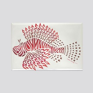 Tribal Lionfish Magnets