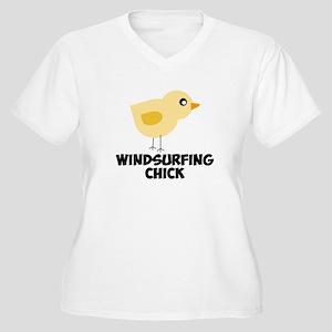 Windsurfing Chick Plus Size T-Shirt