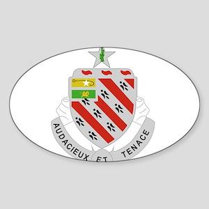 8th Field Artillery Regiment Insignia Sticker