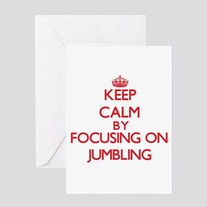 Keep Calm by focusing on Jumbling Greeting Cards