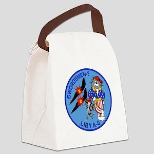 3-vf32logo Canvas Lunch Bag