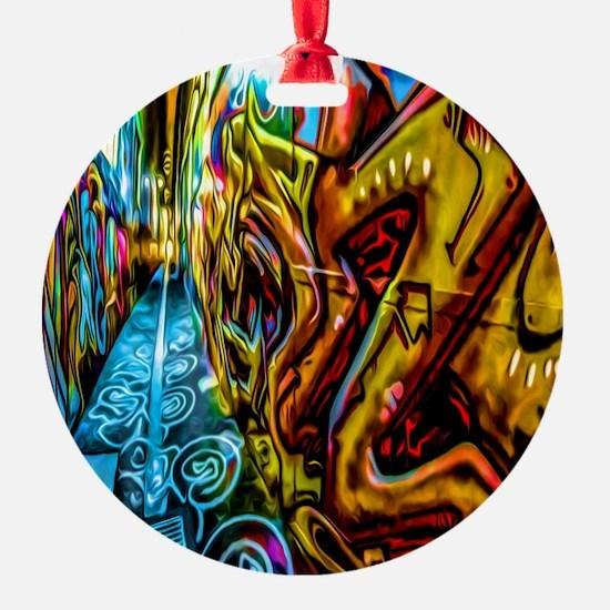Graffiti Alley Ornament