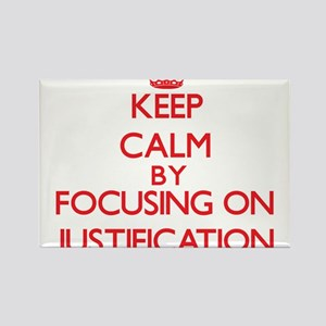 Keep Calm by focusing on Justification Magnets