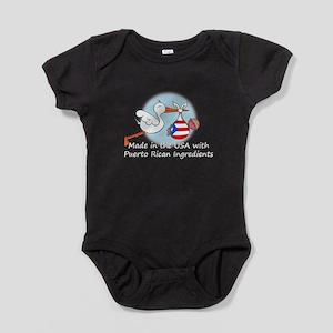 stork baby puerto white 2 Baby Bodysuit
