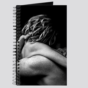 Nude Couple Embrace In The Dark (Lovers) Journal