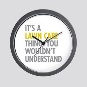 Lawn Care Thing Wall Clock