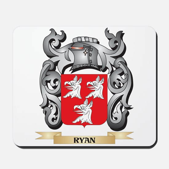 Ryan Coat of Arms - Family Crest Mousepad