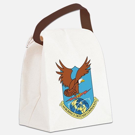 Aerospace Defense Command.png Canvas Lunch Bag