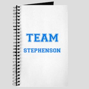 TEAM STEPHENSON Journal
