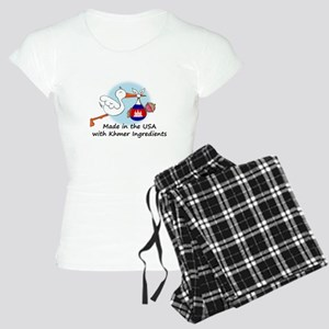 stork baby camb 2 Women's Light Pajamas