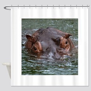 Hippo 8879 Shower Curtain