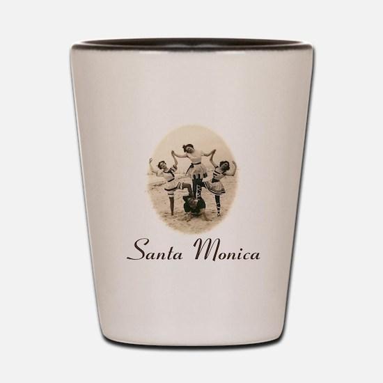 Santa Monica Shot Glass