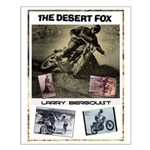 Desert Fox Small Poster