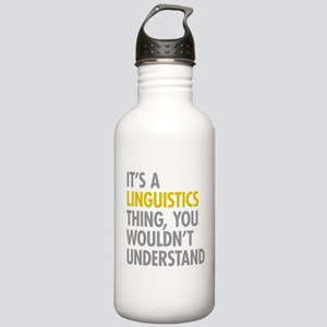 Its A Linguistics Thin Stainless Water Bottle 1.0L