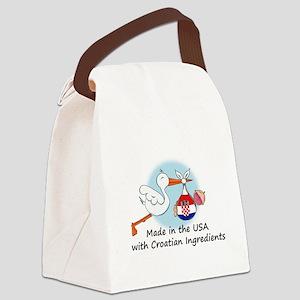 stork baby croatia 2 Canvas Lunch Bag