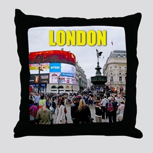 London Piccadilly Pro Photo Throw Pillow