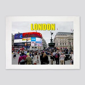 London Piccadilly Pro Photo 5'x7'Area Rug