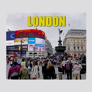 London Piccadilly Pro Photo Throw Blanket