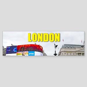 London Piccadilly Pro Photo Sticker (Bumper)