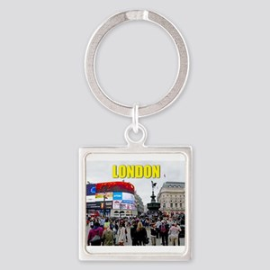 London Piccadilly Pro Photo Square Keychain