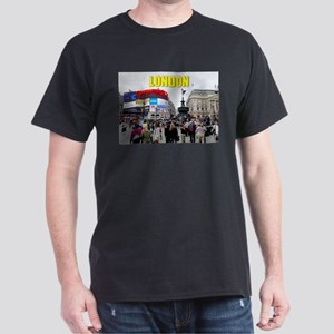 London Piccadilly Pro Photo Dark T-Shirt