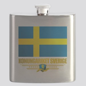 Flag of Sweden Flask