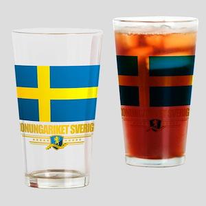 Flag of Sweden Drinking Glass