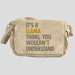 Its A Llama Thing Messenger Bag