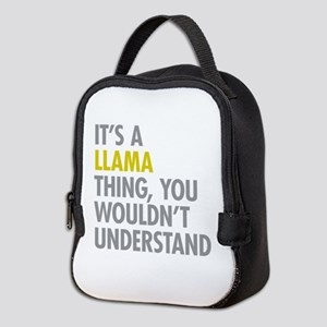 Its A Llama Thing Neoprene Lunch Bag