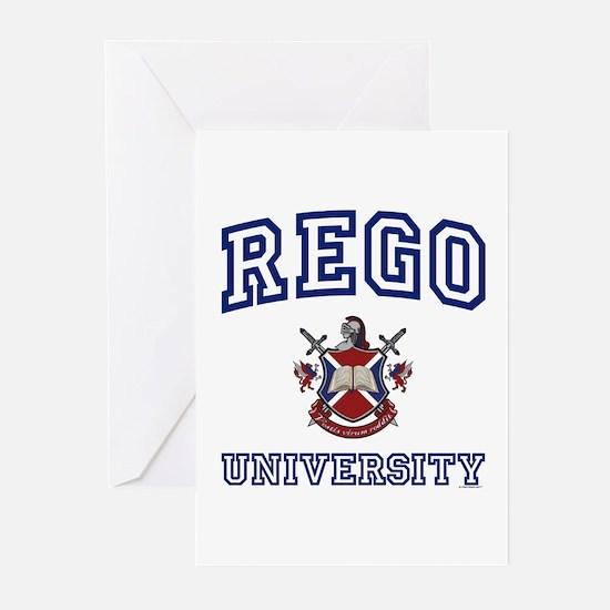 REGO University Greeting Cards (Pk of 10)
