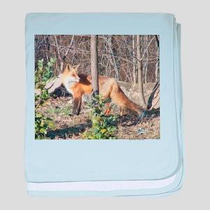 ALFA RED FOX baby blanket