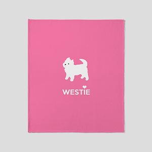 West Highland White Terrier - Westie Throw Blanket