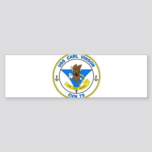 US Navy USS Carl Vinson CVN 70 Bumper Sticker