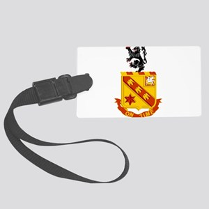 11th Field Artillery Large Luggage Tag