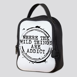 Where the Wild Things Are Addict Stamp Neoprene Lu