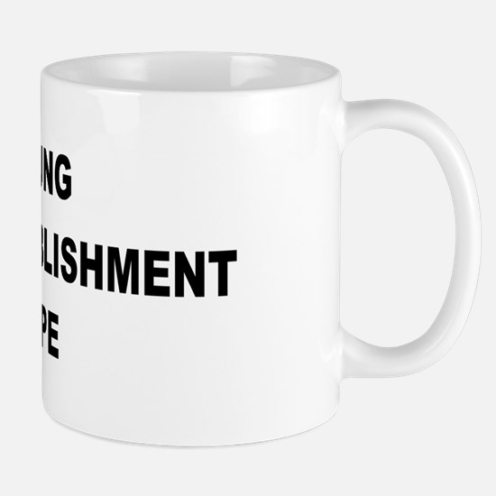 Young Anti-Establishment Mug