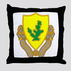 12th Cavalry Throw Pillow