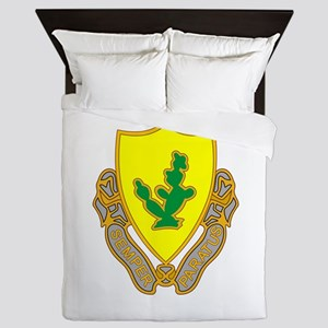 12th Cavalry Queen Duvet