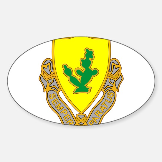 12th Cavalry Decal