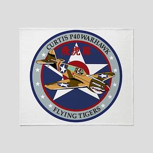 p-40 Throw Blanket
