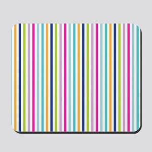 Bright Stripes Mousepad
