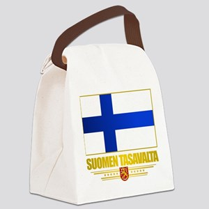 Flag of Finland Canvas Lunch Bag