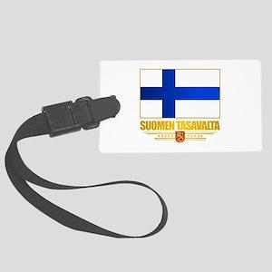 Flag of Finland Luggage Tag