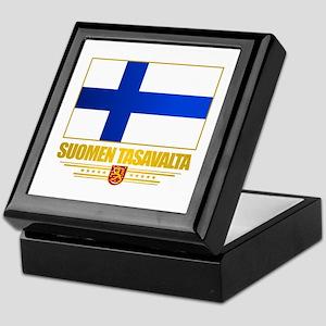 Flag of Finland Keepsake Box