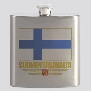 Flag of Finland Flask