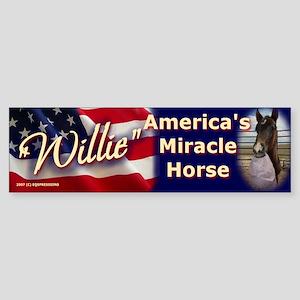 """""""WILLIE"""" Bumper Sticker"""
