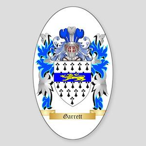 Garrett Sticker (Oval)