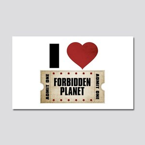 I Heart Forbidden Planet Ticket Car Magnet 20 x 12